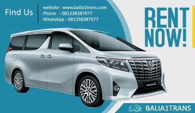 Sewa Mobil New Alphard di Bali