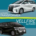 Alphard Vellfire vs Alphard Transformes