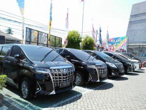 Sewa Alphard New Transformers di Bali