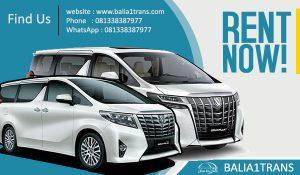 Sewa Mobil New Alphard Transformer di Bali
